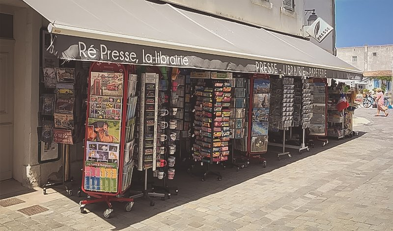 Librairie Grand Largue Ile de Ré